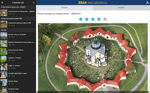 The city of Zdar nad Sazavou- screenshot thumbnail