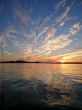 Photo: ようやく太陽が起きてきました。