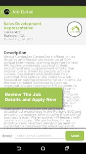 CareerArc Job Search- screenshot thumbnail