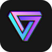 App VaporCam-Glitch, Aesthetic, Vaporwave Photo Editor APK for Windows Phone