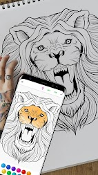 InColor - Coloring Books 2018 APK screenshot thumbnail 3