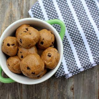 Vegan Cookie Dough Protein Bites.
