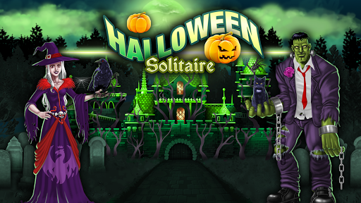 Halloween Tri-peaks Solitaire  screenshots 3