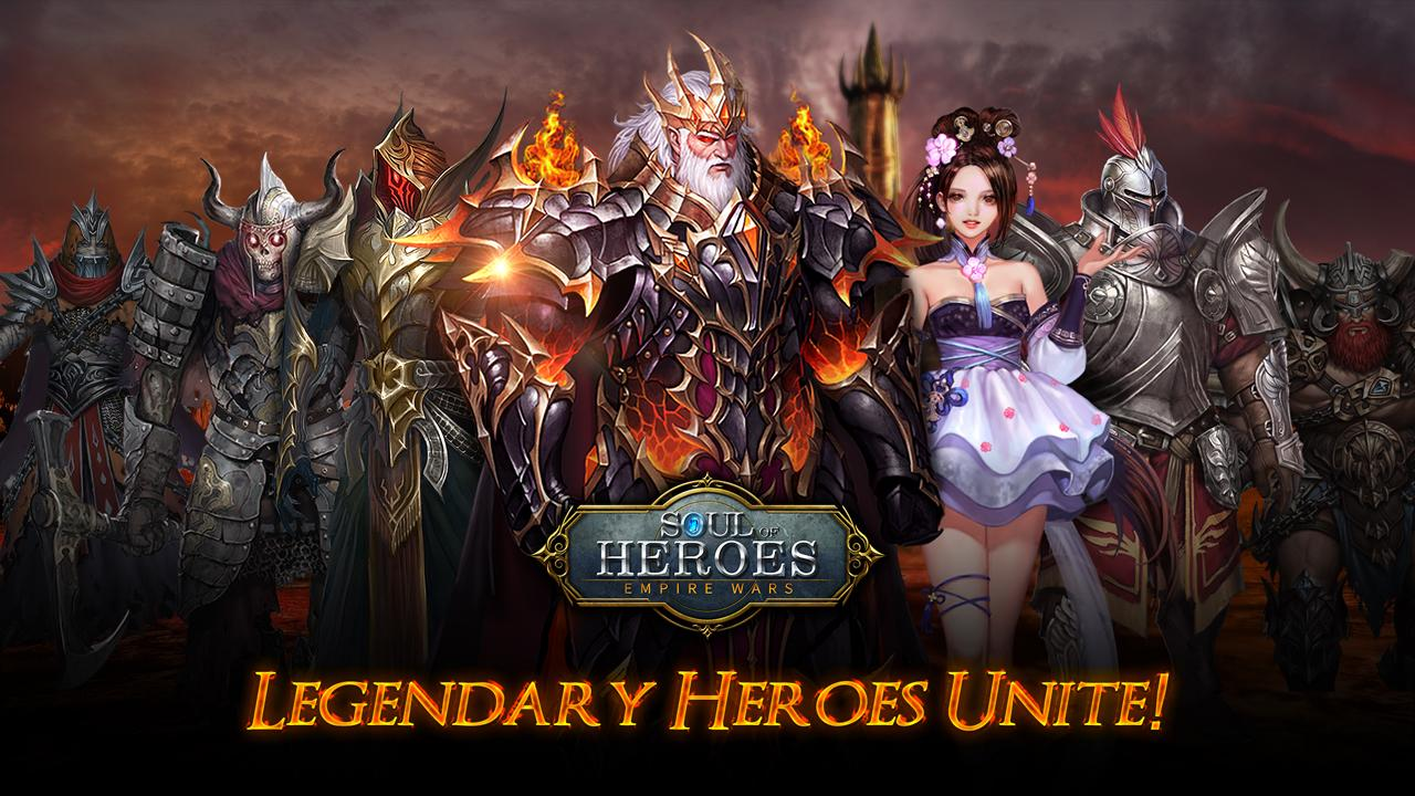 Soul of Heroes : Empire Wars- screenshot