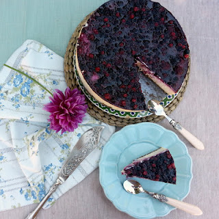 Mixed Berries Cheesecake.