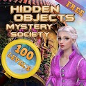 Hidden Objects Mystery Society icon