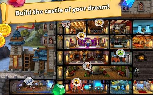 Screenshot 2 Hustle Castle: Fantasy Kingdom 1.8.3 APK MOD