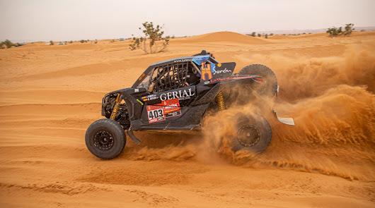 Hinojo octavo tras disputarse las 6 primeras etapas del Dakar