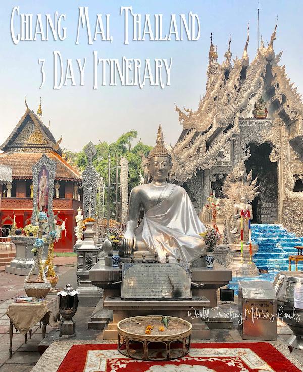 Chiang Mai, Thailand 3 Day Itinerary