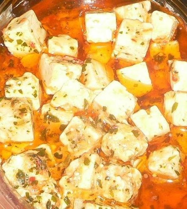 Marinated Cheese Recipe