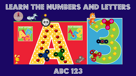 Learn the numbers and letters Screenshot
