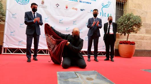 """Javier Cámara recibe el Premio 'Almería, Tierra de Cine': """"Es un honor"""""""