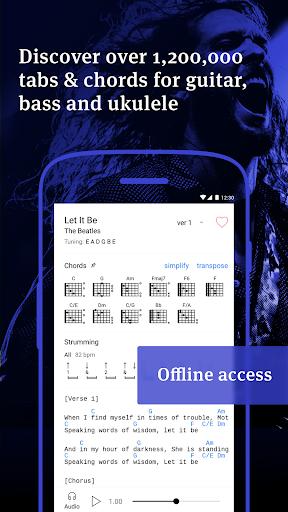 Ultimate Guitar Tabs & Chords screenshot 1
