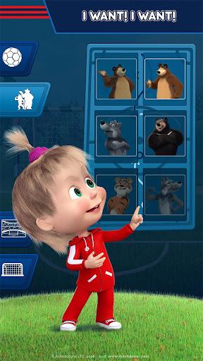 Masha and the Bear: Football Games for kids 1.3.7 screenshots 7