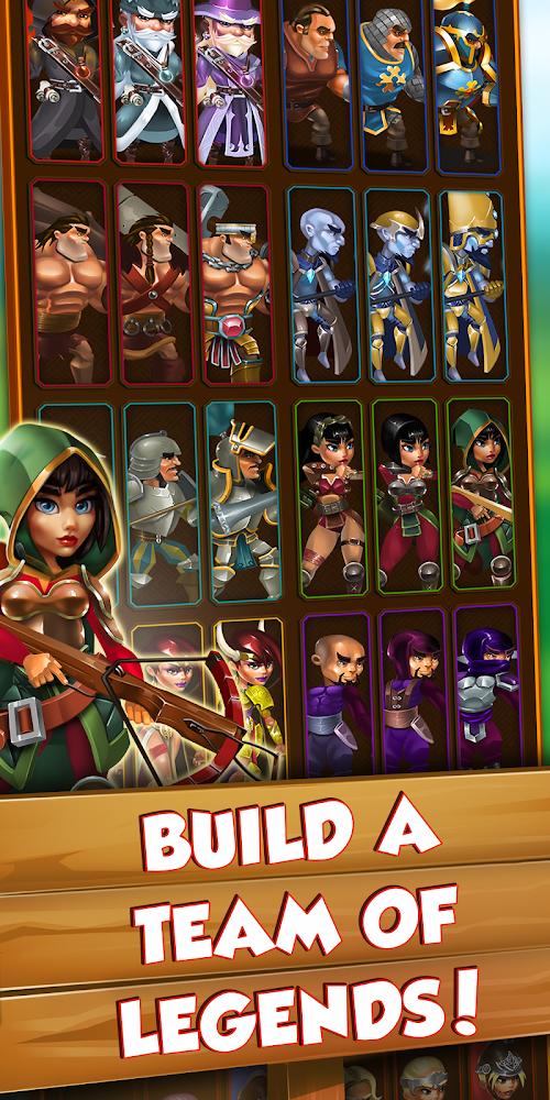 Screenshot 2 Legacy of Legends - Best Idle RPG 0.9.3 APK MOD