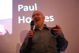 "Photo: Paul Holmes, C4F award winner of ""Titan Web 2.0 of the Future"""