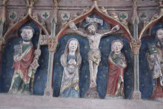 """Photo: retable 15ème siècle église de Medelsheim """"Altarretabel"""""""