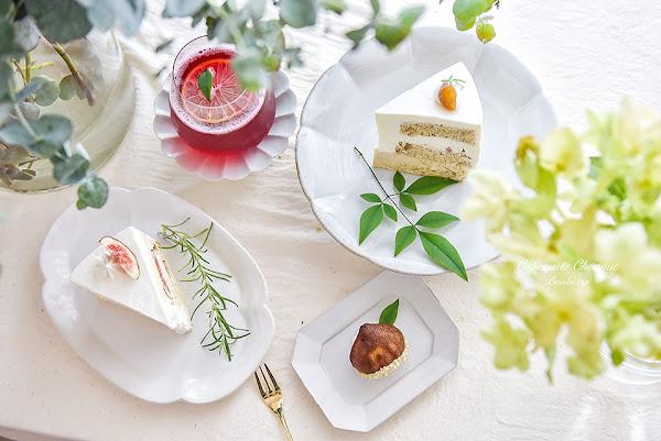 台北大安-Cypress&Chestnut花包圍的夢幻甜點店、驚艷的栗子白巧蛋糕 科技大樓美食