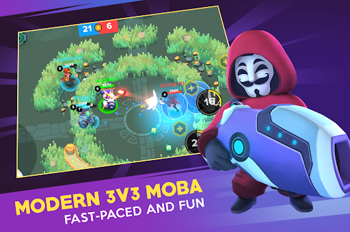 Heroes Strike Offline - MOBA & Battle Royale 45 Screenshots 2