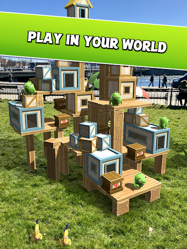 Angry Birds AR: Isle of Pigs 1.1.2.57453 screenshots 8