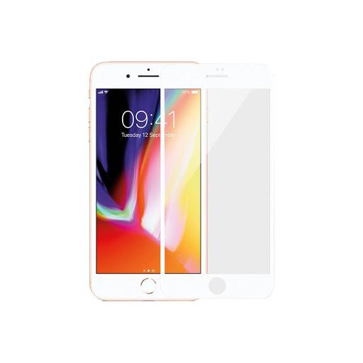 Miếng dán màn hình Mipow Kingbull 3D Glass Screen Protector IPHONE 7/8 plus BJ12-WT (Trắng)