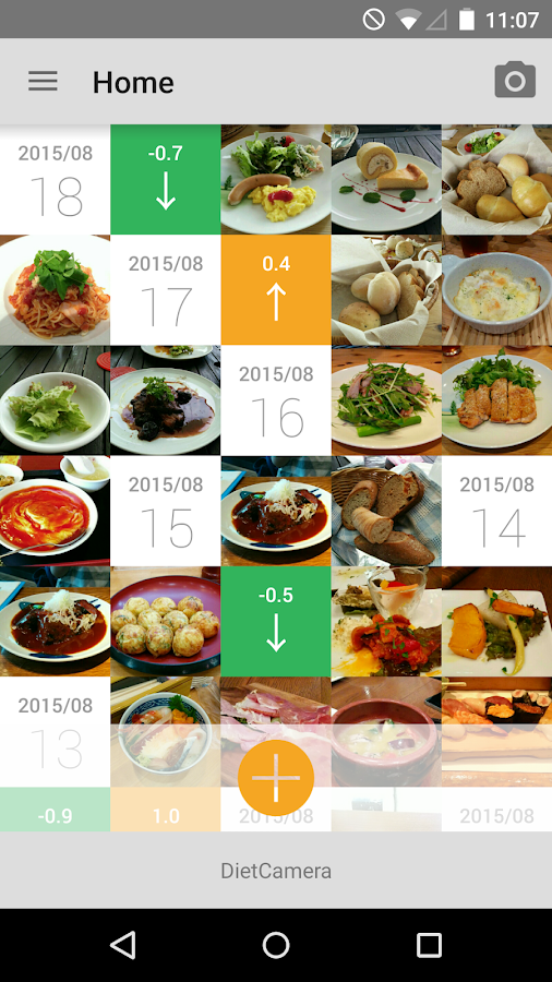 Diet camera food tracker android apps on google play - Cuisine comera ...