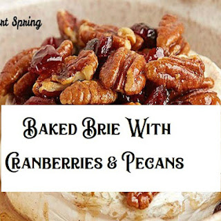 Baked Brie with Cranberries & Pecans Recipe
