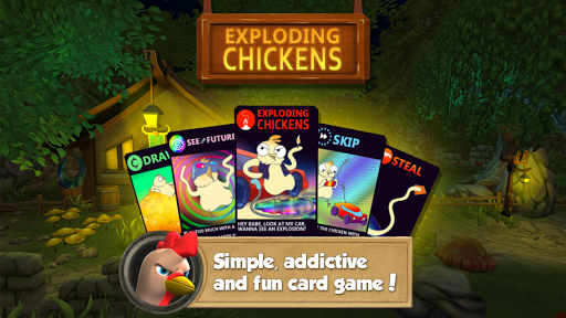 Chickens Duel Card Game