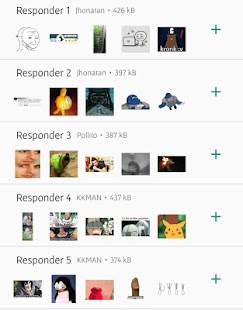 Stickers Graciosos para Responder WAS Screenshot
