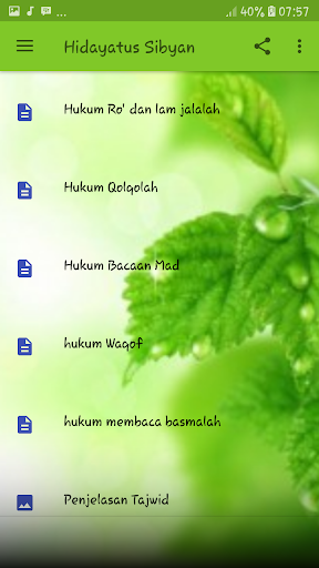 Hidayatus Sibyan 2.2 screenshots 2