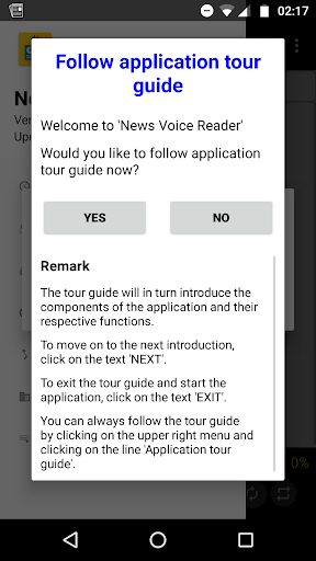 News Voice Reader 10.8.3 Screenshots 1