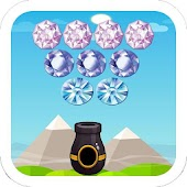 Diamonds Pro Bubble Shooter!