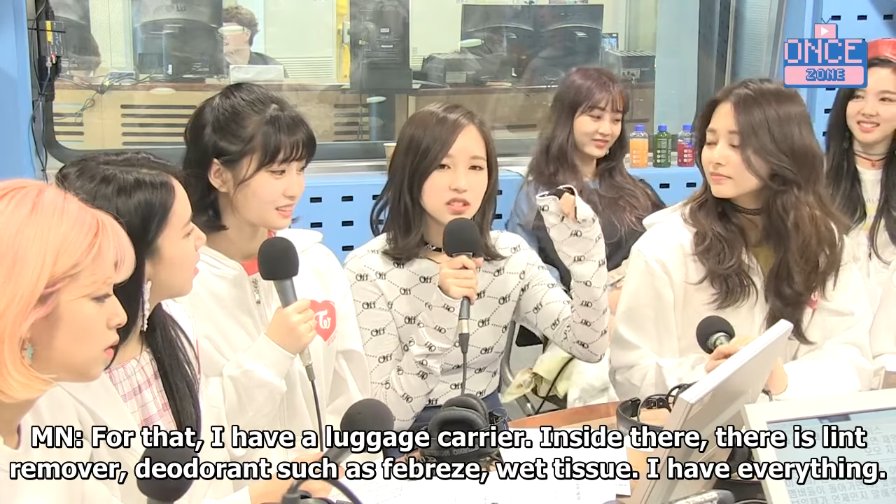 [ENG SUB] 180410 SBS Power FM _Choi Hwajung's Power Time' with TWICE 38-24 screenshot