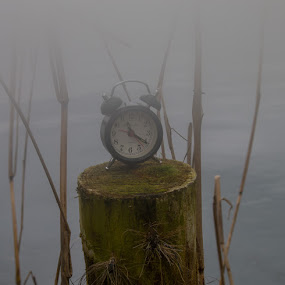 Time in the mist  by Karen Peirce - Artistic Objects Other Objects