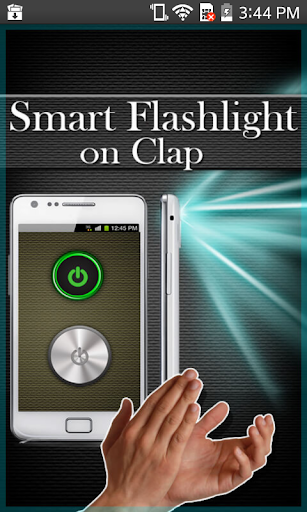 Smart FlashLight on Clap