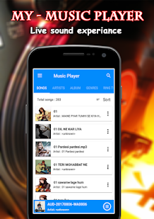 My Music Player - náhled