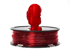 Translucent Red MH Build Series TPU Flexible Filament - 1.75mm (1kg)