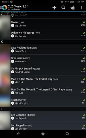 android CLZ Music - Music Database Screenshot 6