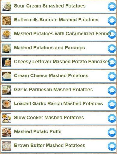 Mashed Potatoes Recipes 2.0 screenshots 2
