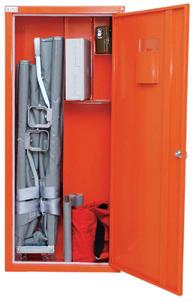 Skåp kompakt för bår eller första hjälpen-produkter