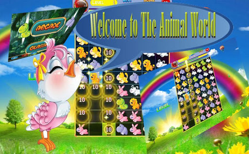 Cute Animal Match Game