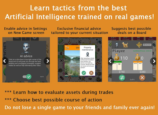 Quadropoly Academy - Data Science for Board Game screenshot 2