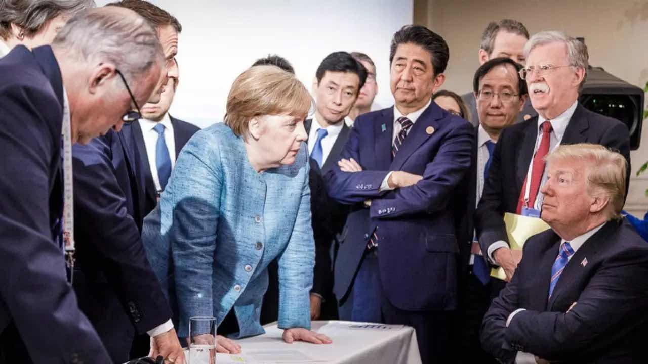 VẮNG ÔNG TRUMP G-7 ĐÃ BỐC MÙI BẢO VỆ TÀU CỘNG RẤT TINH VI QUA TUYÊN BỐ CHUNG TẠI CORNWALL Ở ANH QUỐC