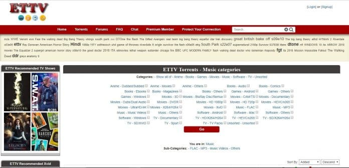 ETTV torrent website