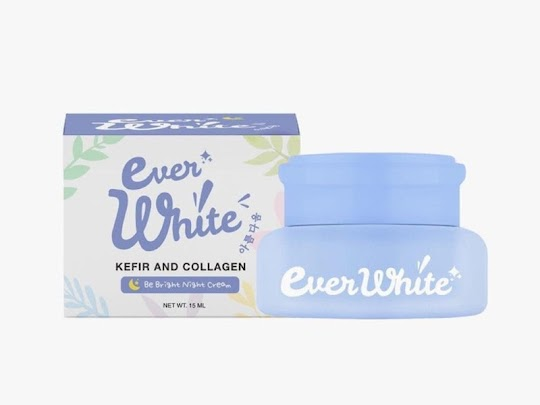 Cream Malam Everwhite Night Cream EVERWHITE krim malam memutihkan mencerahkan wajah glowing menghilangkan flek jerawat