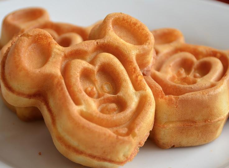 Mickey Waffles at Minnie & Friends. Photo:  Sarah Chapman.