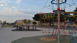 Un parque del municipio de Vícar.