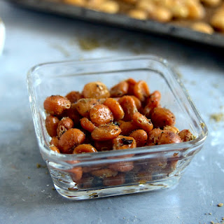 Crispy Lupini Beans.