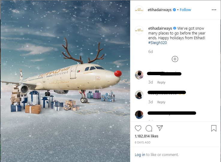 Holiday post 2019 - Etihad airways