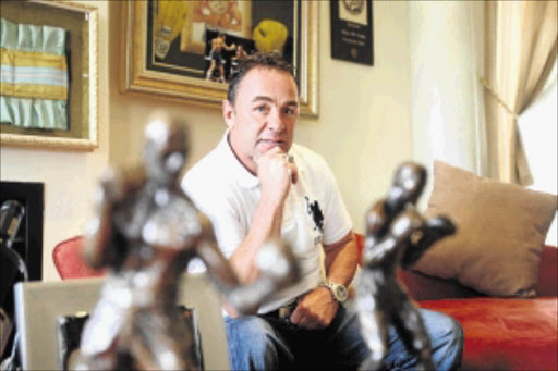 THE ORIGINAL: Boxing legend Brian Mitchell honed his skills as a fighter in Soweto and other townships to be world champion PHOTO:: VATHISWA RUSELO